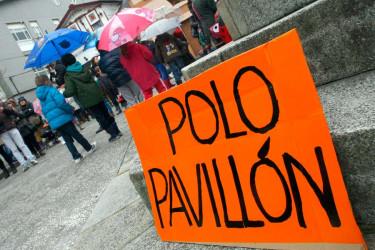 Flasmob de padres y alumnos del colegio Cruceiro de Canido de Ferrol