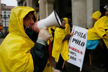 Quinientos afectados por las preferenetes se manifiestan en Ferrol
