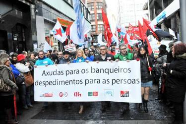 Huelga en Novagalicia Banco