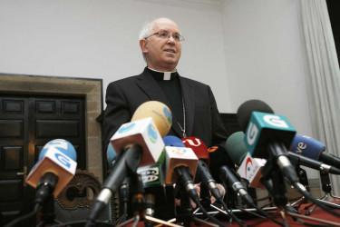 Rueda de prensa del Arzobispo de Santiago