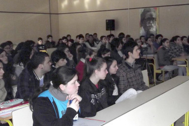 Actividades no Instituto Xelmírez II de Santiago