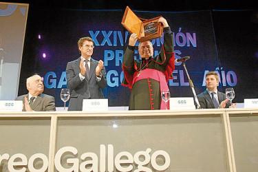 Gala de entrega de los Premios Gallego del Año 2013