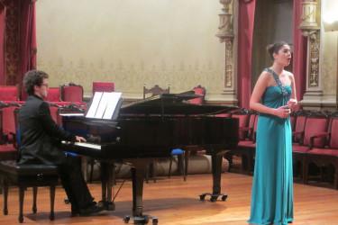 Actuacións de alumnos do Conservatorio de Santiago enmarcadas no II Ciclo de música de cámara Hilario Courtier