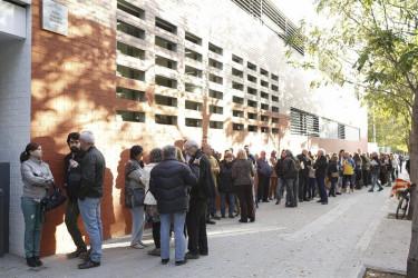 Jornada de participación (consulta soberanista) del 9N en Cataluña