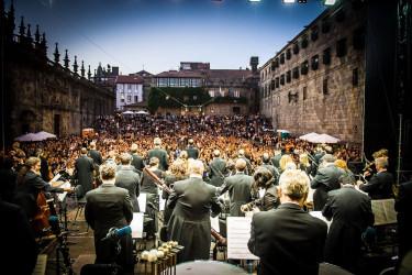 Concerto da Real Filharmonía na Quintana