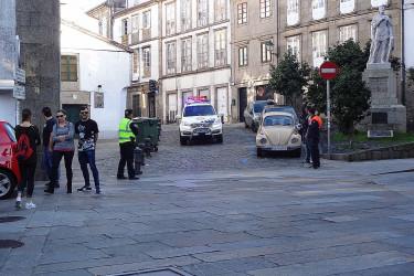 39ª Carreira Pedestre de Santiago. Praza da Universidade, adultos (I)