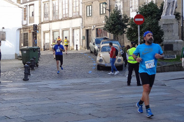 39ª Carreira Pedestre de Santiago. Praza da Universidade, adultos (VIII)