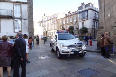 39ª Carreira Pedestre de Santiago. Praza da Universidade, escolares (I)