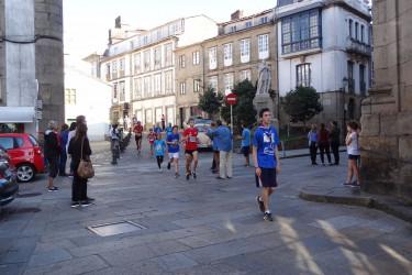 39ª Carreira Pedestre de Santiago. Praza da Universidade, escolares (II)