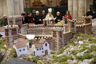 Bendición del Belén de la Catedral de Santiago