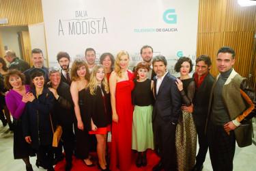 Éxito del estreno de 'Dalia, a modista'