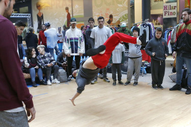 Concurso de Breakdance en Área Central