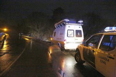 Dos muertos en un accidente en el río Lengüelle, en Tordoia