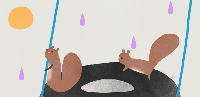 Ilustración del cuento de Neuman Tikín - FOTO: Neuman Tikín