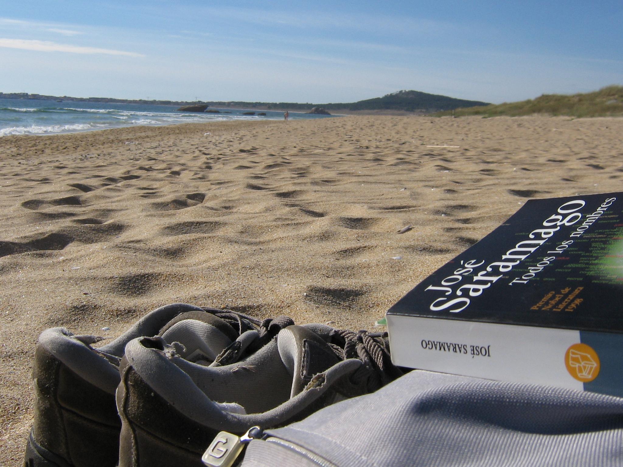 Aunque no es de las más cercanas a Compostela, merece la pena hacer una escapada a la playa de O Vilar (Ribeira) - FOTO: Sporras
