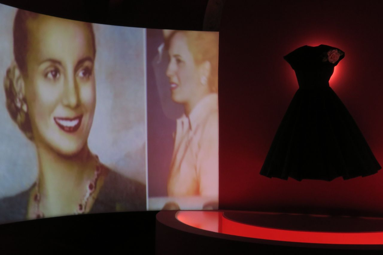 Imagen de la sala 'Evita inmortal' en el Museo Evita en Buenos Aires (Argentina) - FOTO: Cristina Terceiro/EFE