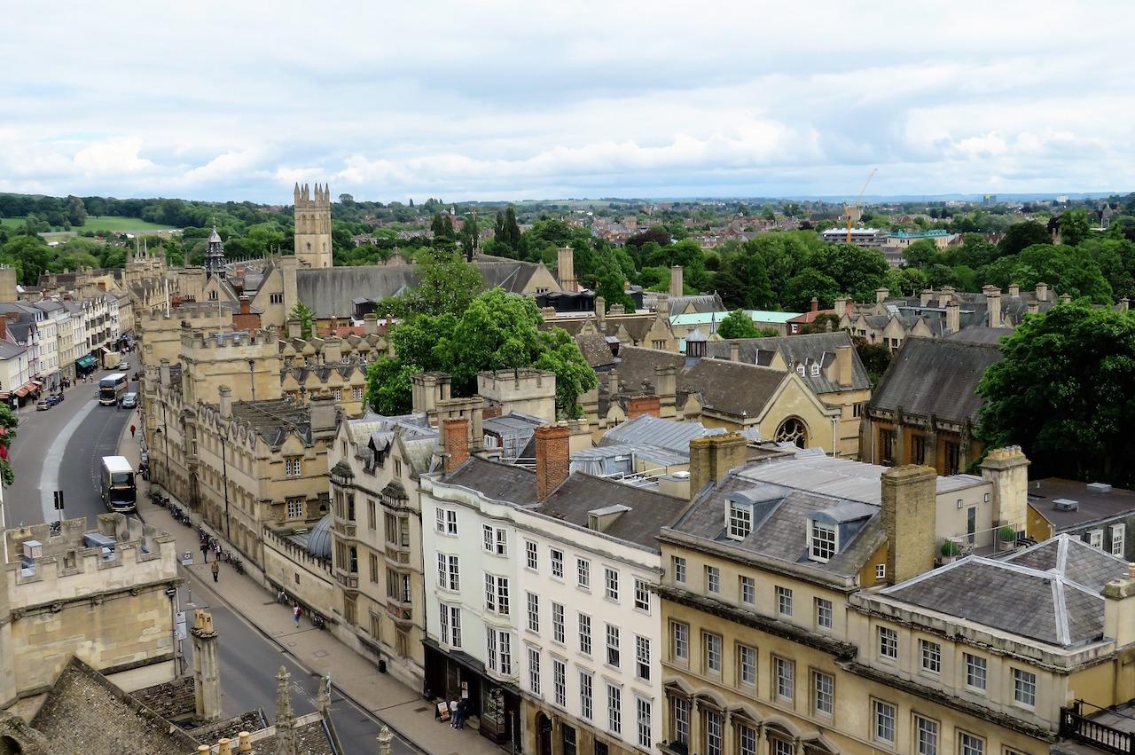 La ciudad de Oxford (Inglaterra) ronda los 170.000 habitantes