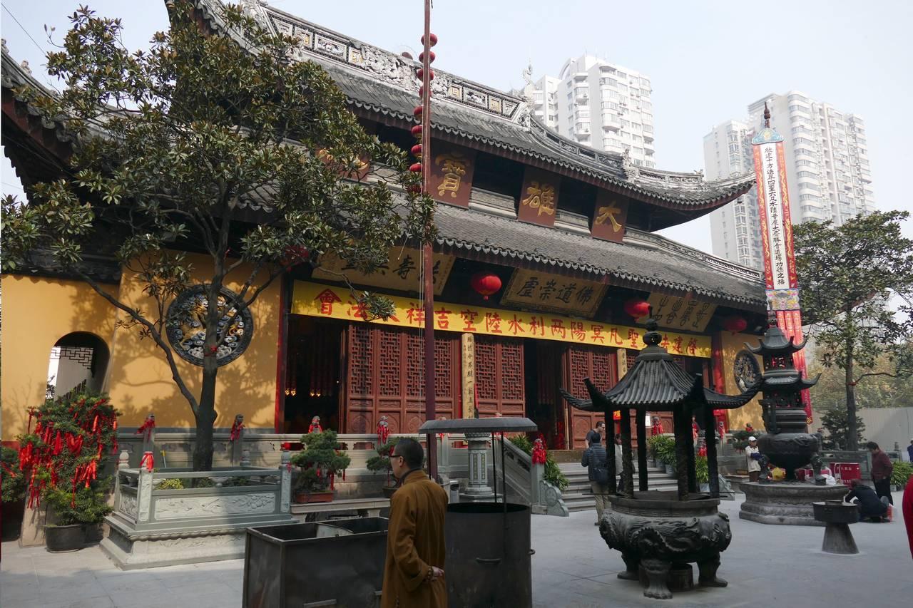 Templo del Buda de Jade, en Shangai