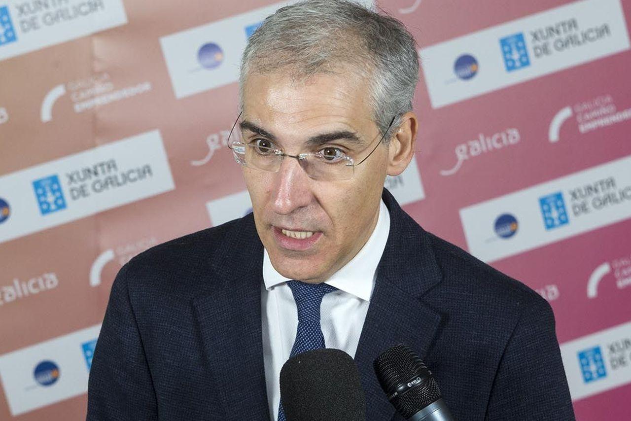 El conselleiro de Economía, Francisco Conde - FOTO: Xoán Crespo