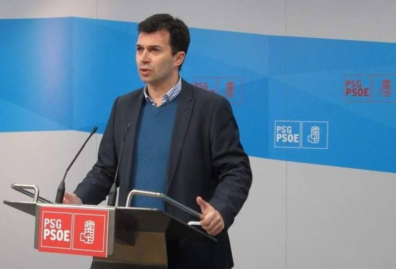 Gonzalo Caballero, secretario general del PSdeG-PSOE. - FOTO: FERNANDO BLANCO