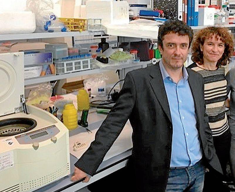 Collado y Rivas, del Laboratorio de Células Madre en Cáncer y Envejecimiento del IDIS