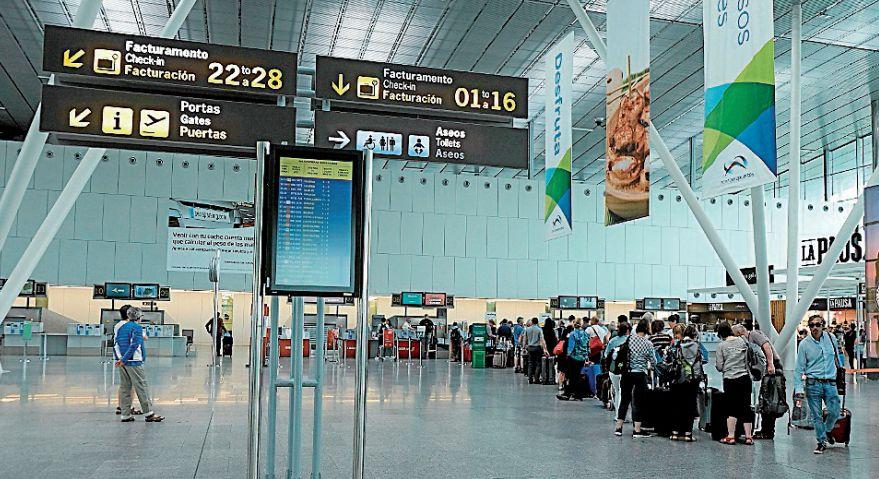 La sala VIP estará situada en la zona de embarque del aeropuerto - FOTO: Arxina