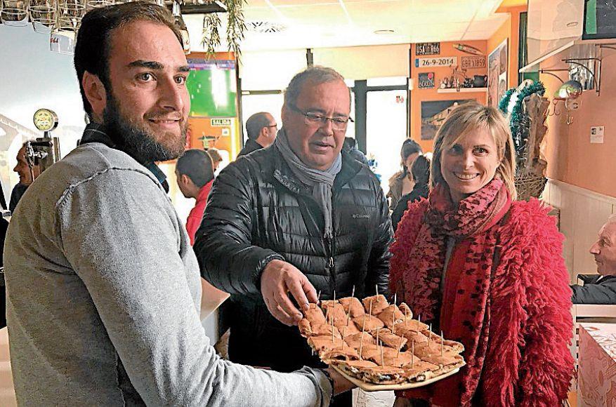 Nava Castro participou onte na Ruta Gastronómica do Camiño Francés - FOTO: Xunta