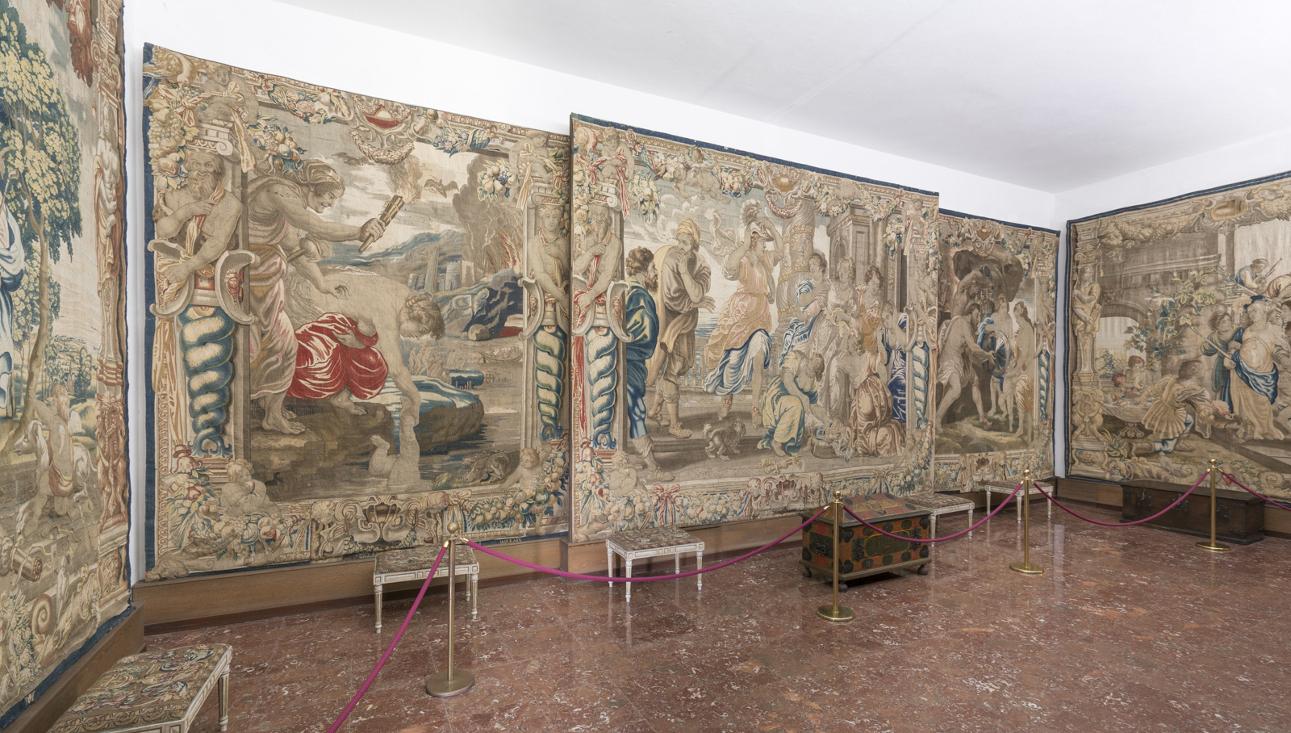 Sala del Museo de la Catedral que cobija algunos de los tapices que forman parte de la valiosa colección.  - FOTO: Catedral