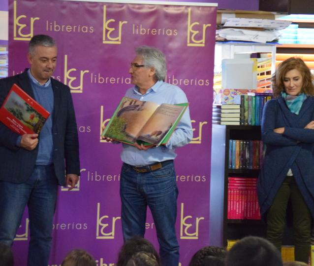 García, pola esquerda, López-Barxas e Pintado.  - FOTO: Lema