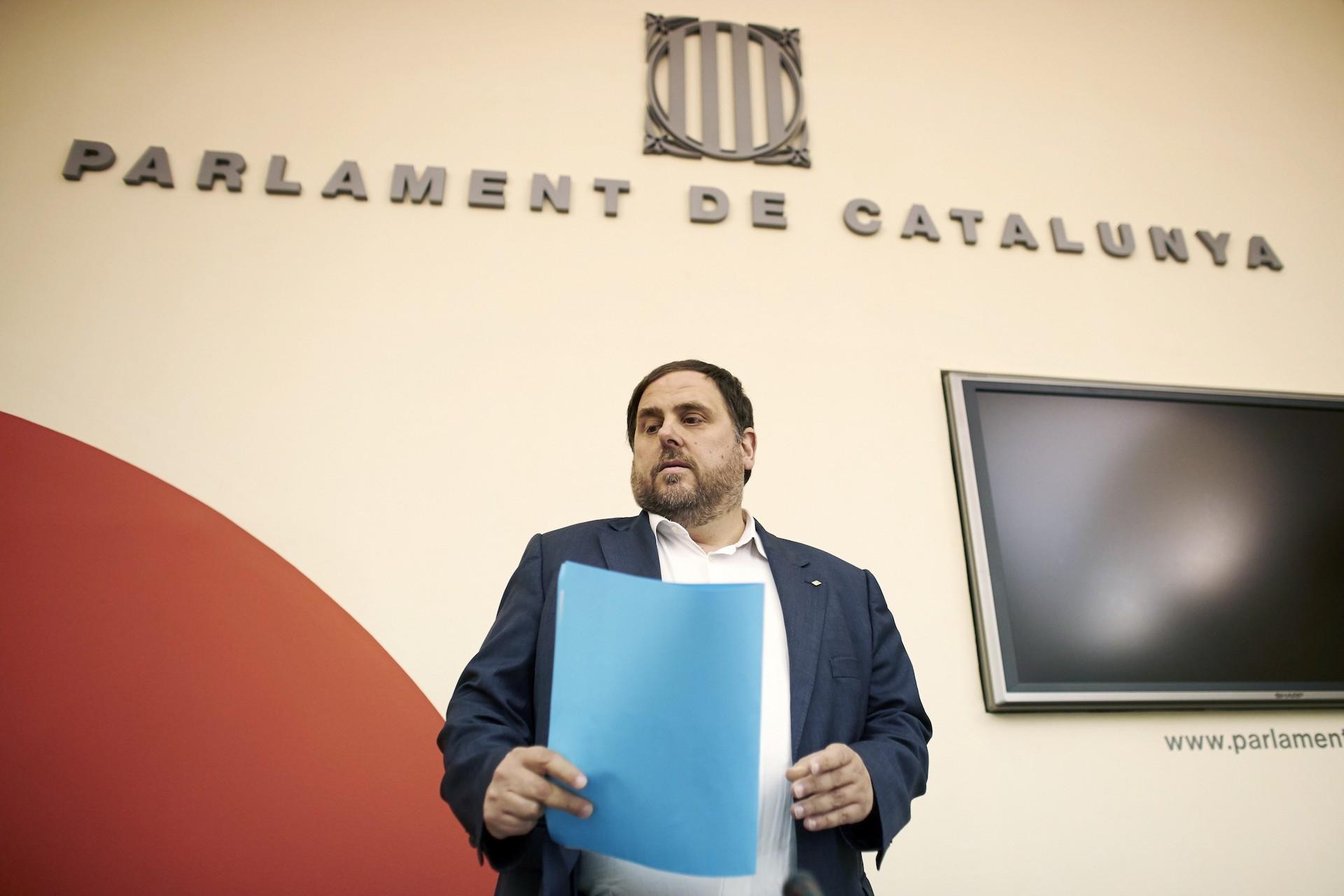 Oriol Junqueras en una foto de archivo - FOTO: Efe