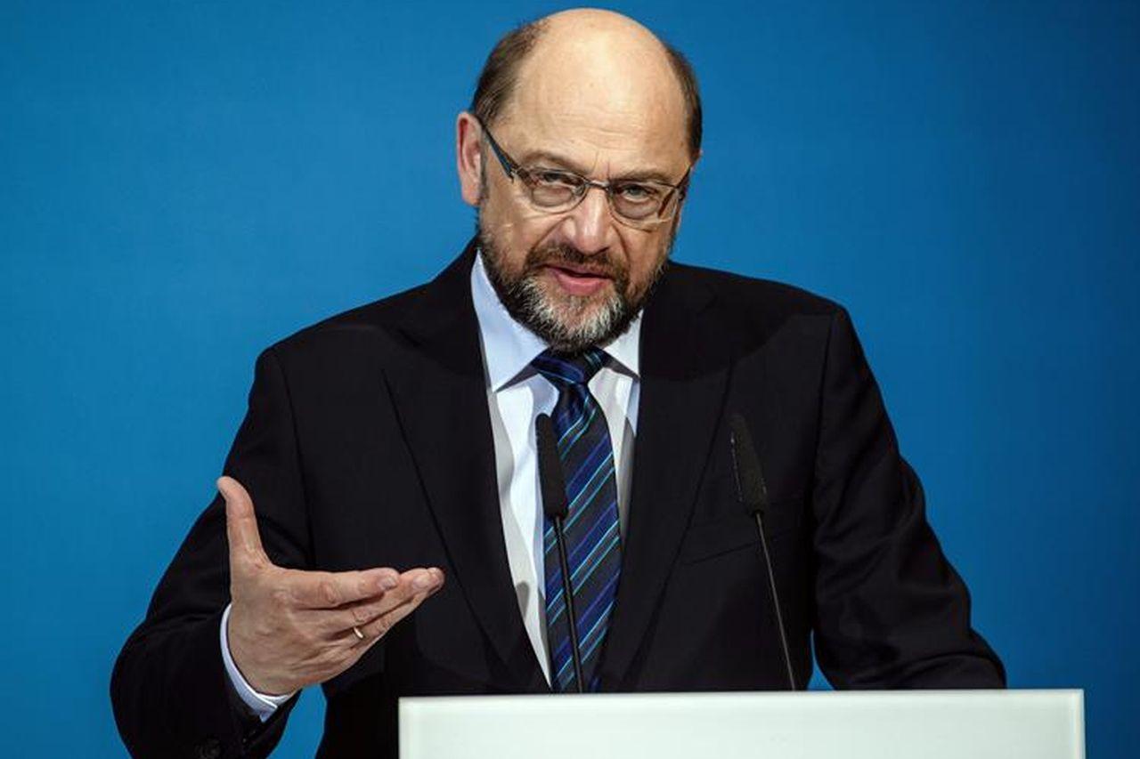 El líder del Partido Socialdemócrata (SPD), Martin Schulz - FOTO: EFE