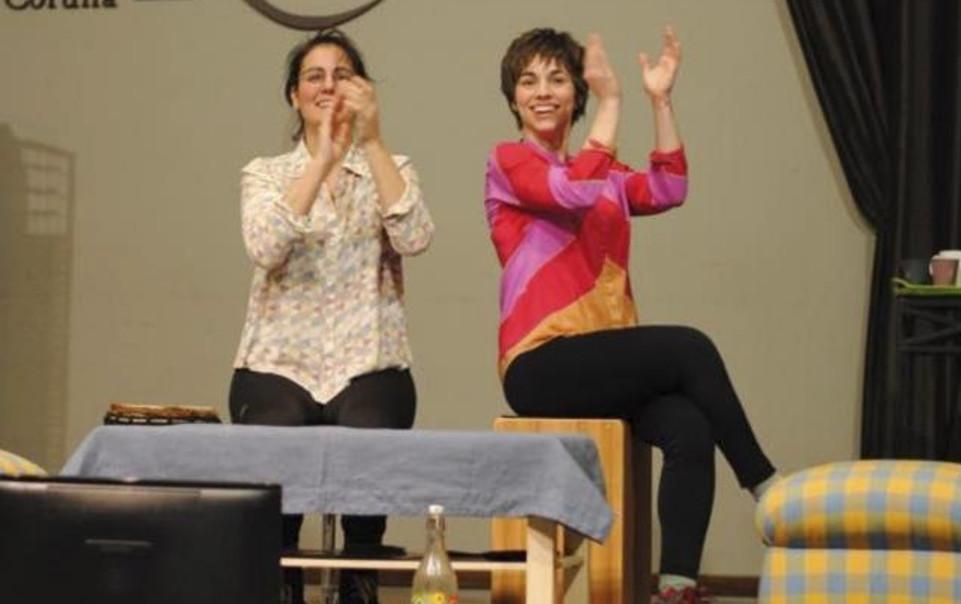 O dúo de percusión Dúas acturá no Auditorio de Galicia os días 25 e 26 de xaneiro, xunto coas bailarinas integrantes do grupo Exire