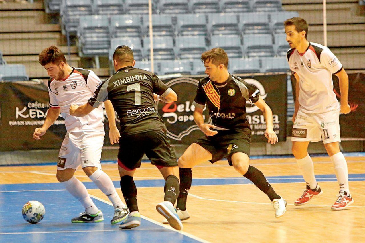 El Catgas ya se impuso en Sar en octubre (2-3) - FOTO: Antonio Hernández