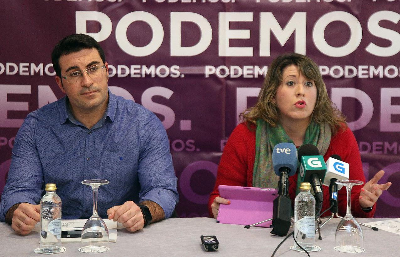 Juan Merlo y Carmen Santos. - FOTO: Antonio Hernández