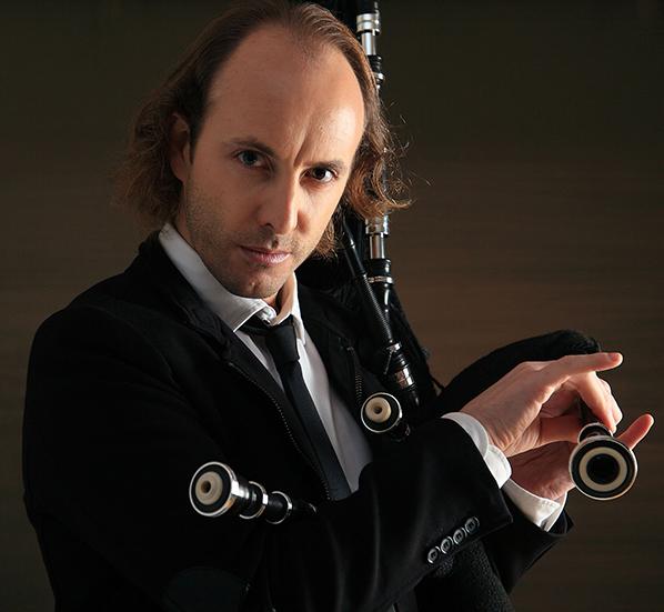 El flautista y gaiteiro Óscar Ibáñez.  - FOTO: Merchy Gómez