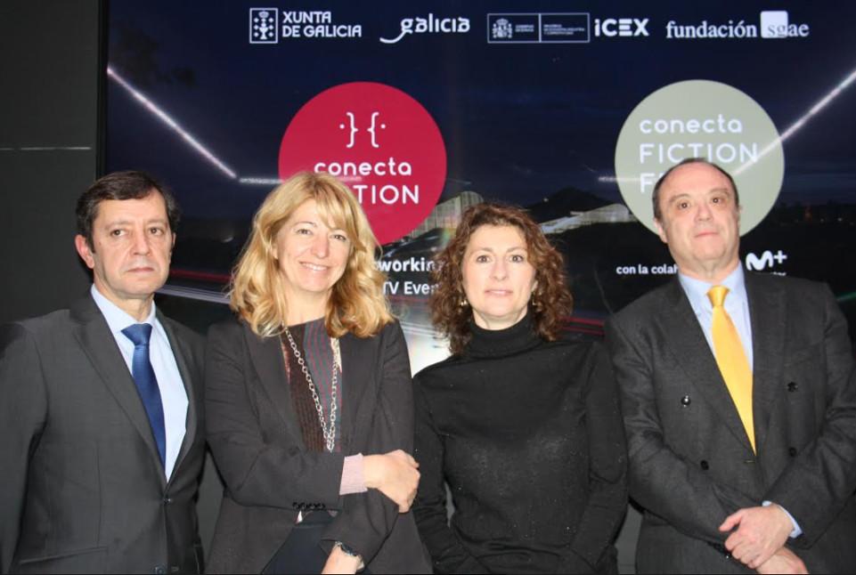 ACORDO Jesús Oitavén, Inés París, Géraldine Gonard e Javier Sierra.  - FOTO: X