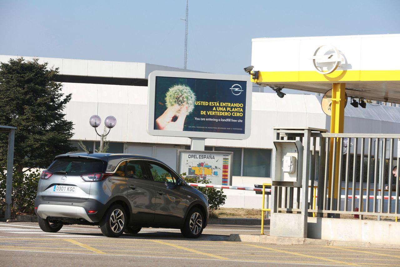 Planta de Opel en Figueruelas - FOTO: EFE