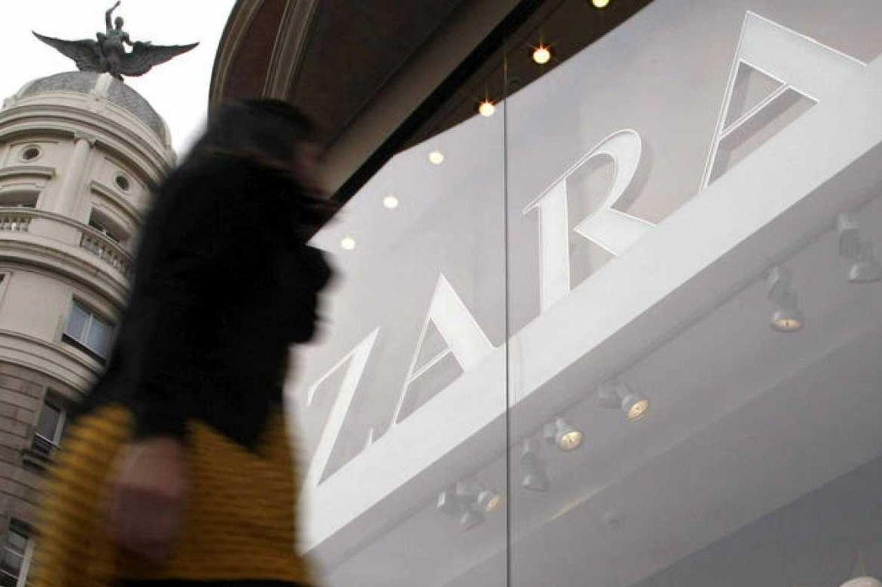 Tienda de Zara en A Coruña - FOTO: EFE
