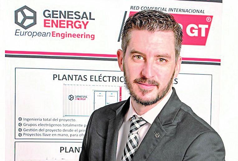 Iago Crespo, Director general de Genesal Energy en México - FOTO: Genesal Energy en México