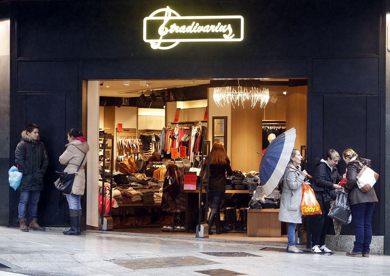 Tienda de Stradivarius en Santiago