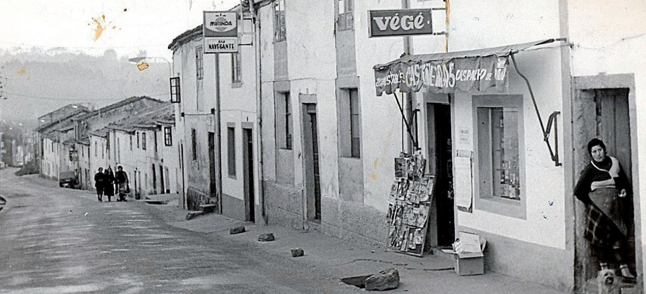 La rúa de Sánchez Freire, donde estaba ubicada la mítica taberna Bar Navegante, una de las más conocidas del barrio de Conxo