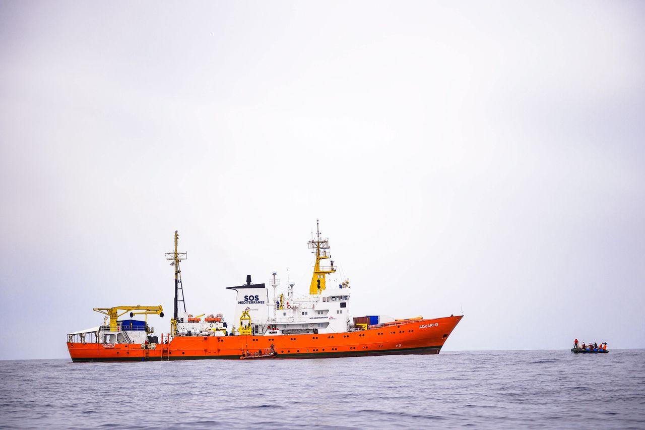 El barco Aquarius en una foto de archivo - FOTO: Efe