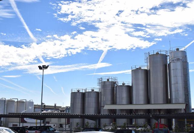 EL GRUPO, con granjas en Vilalba y Nadela, envasa las marcas President, Puleva, RAM o Lauki. - FOTO: www.campogalego.com