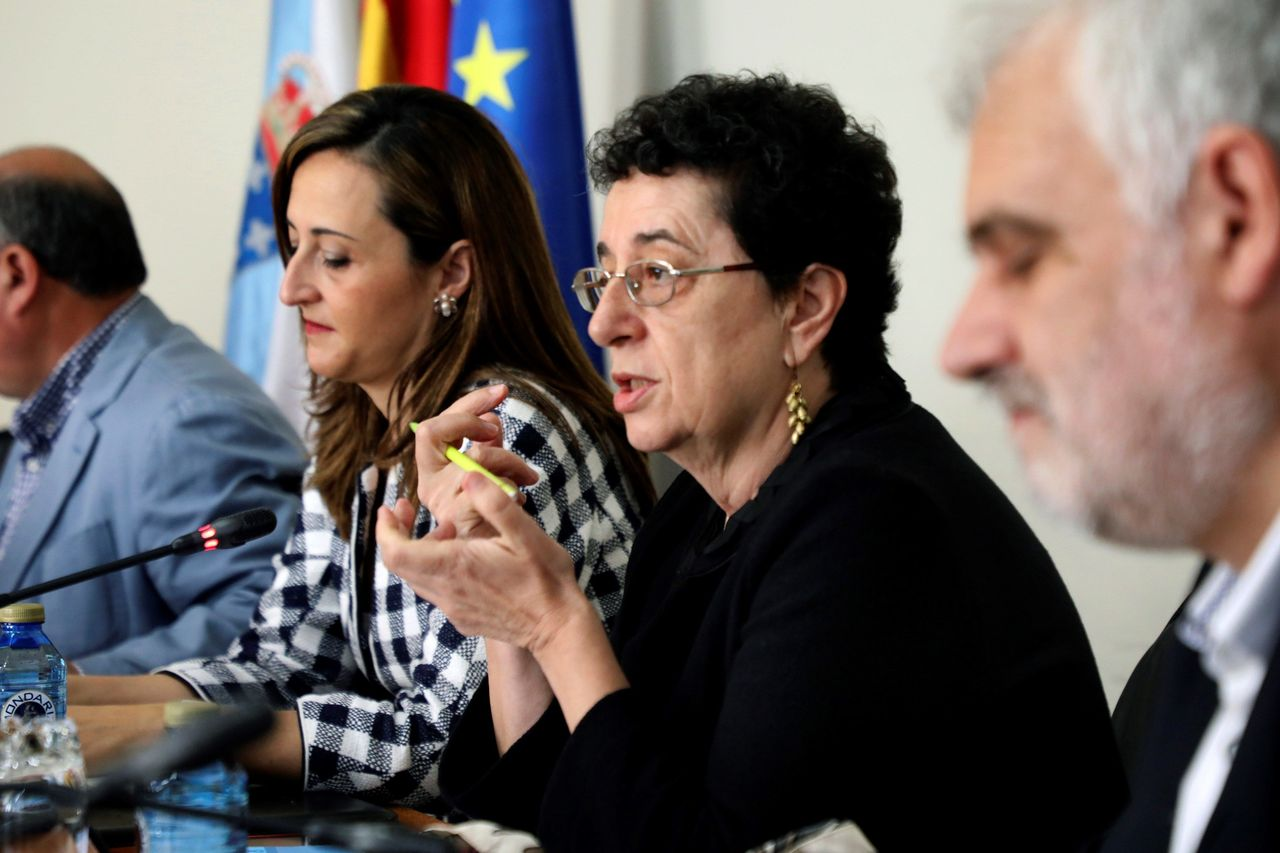 Rosario Álvarez, este miércoles durante su comparecencia en el Parlamento  - FOTO: Efe