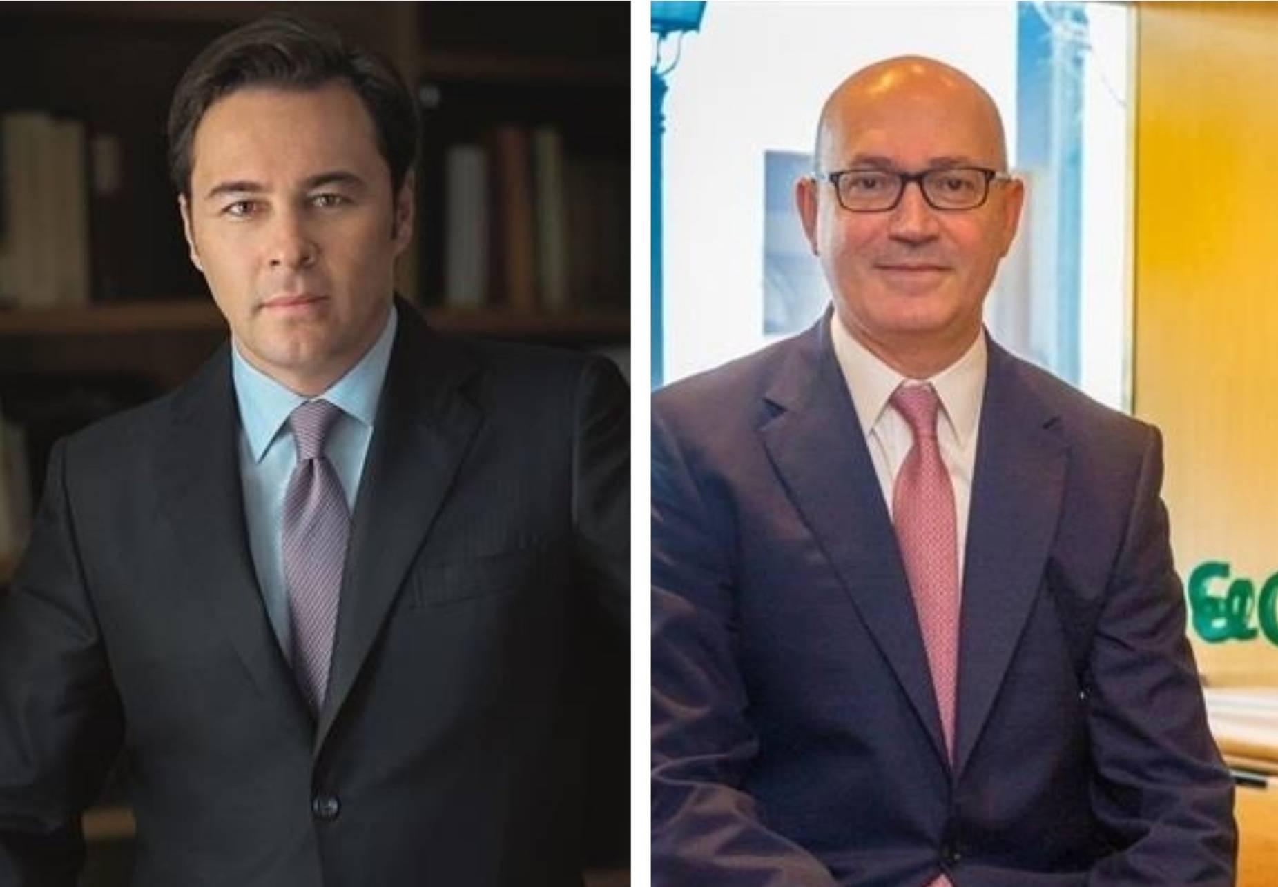 Dimas Gimeno y Jesús Nuño de la Rosa  - FOTO: Europa Press