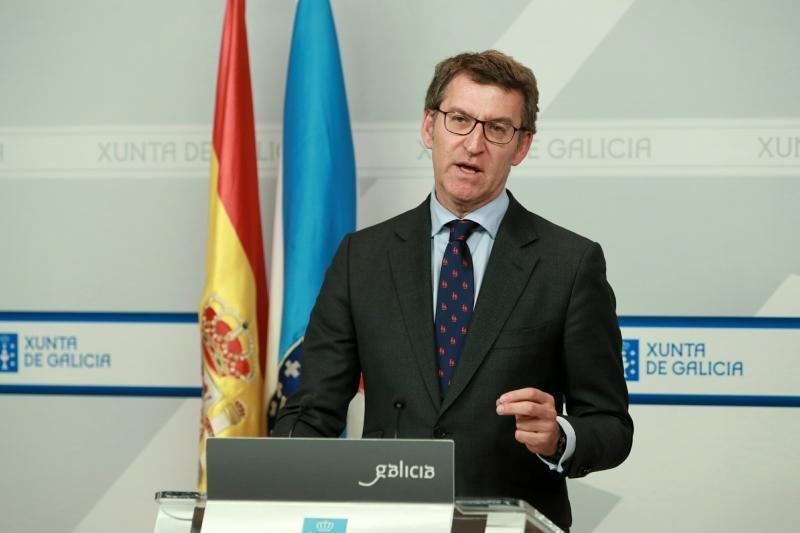 Núñez Feijóo, presidente de la Xunta, en una foto de archivo - FOTO: Xunta