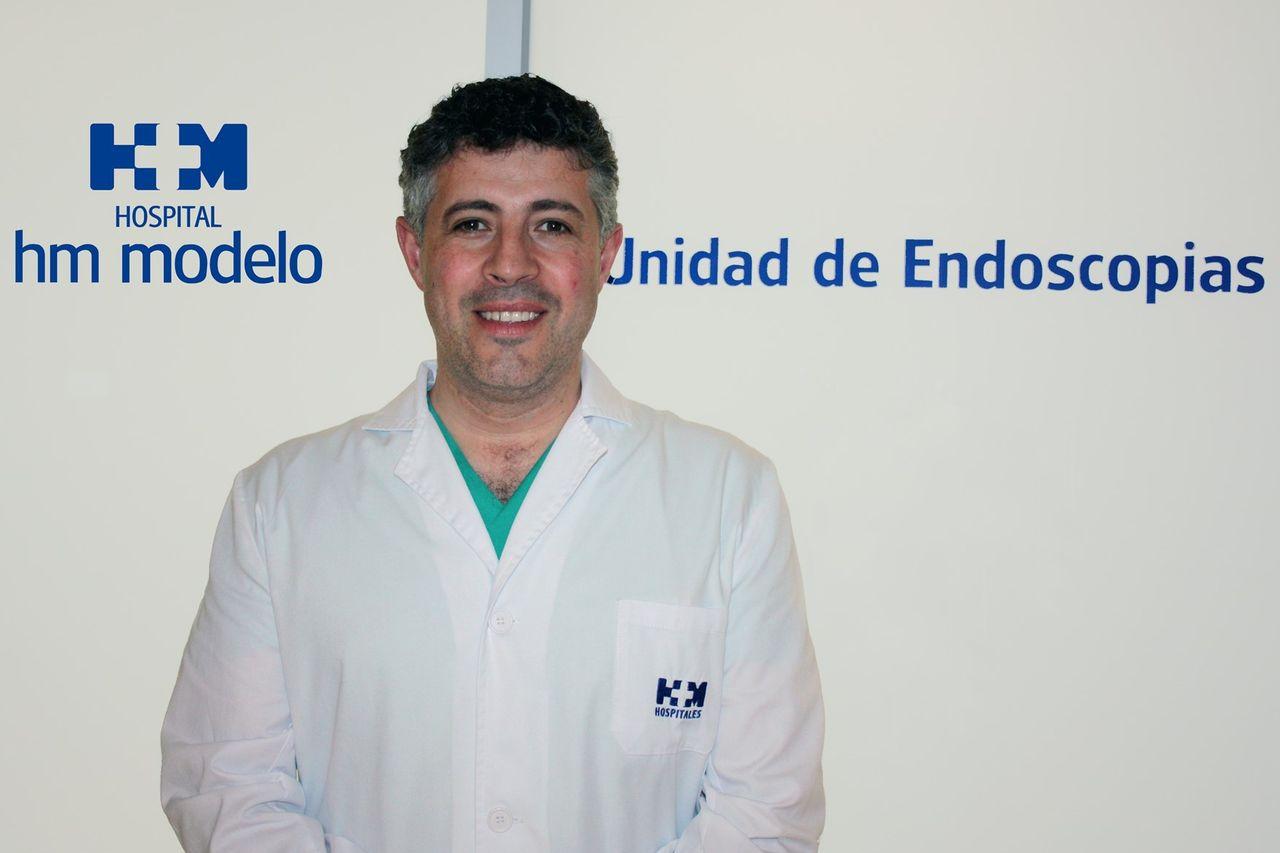David Martínez Ares, especialista en aparato digestivo - FOTO: E.PRESS