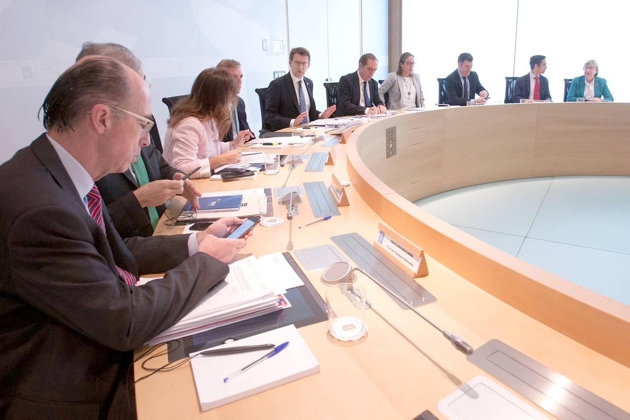Imagen del Consello de la Xunta - FOTO: ANA VARELA