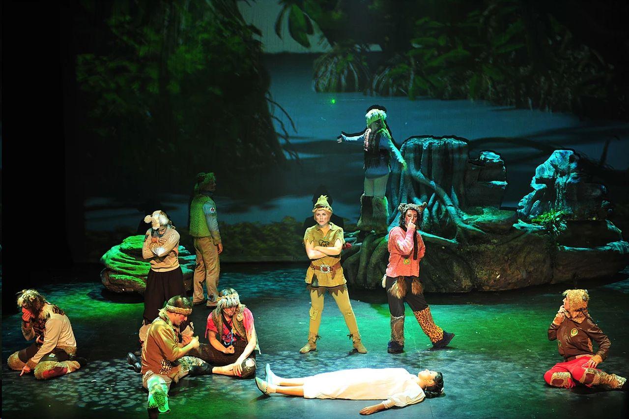 Escena de 'Peter Pan, el musical' - FOTO: Theatre Properties