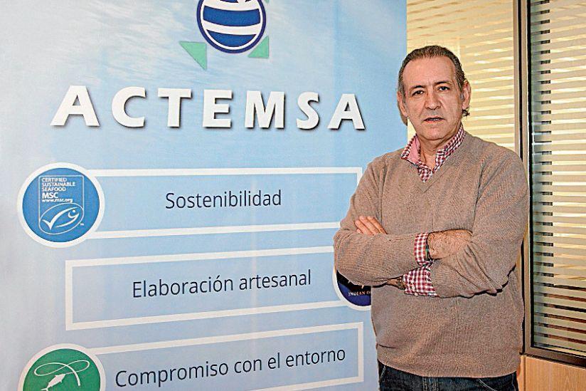 El director ejecutivo y consejero delegado de Actemsa, José Luis Escurís - FOTO: Actemsa